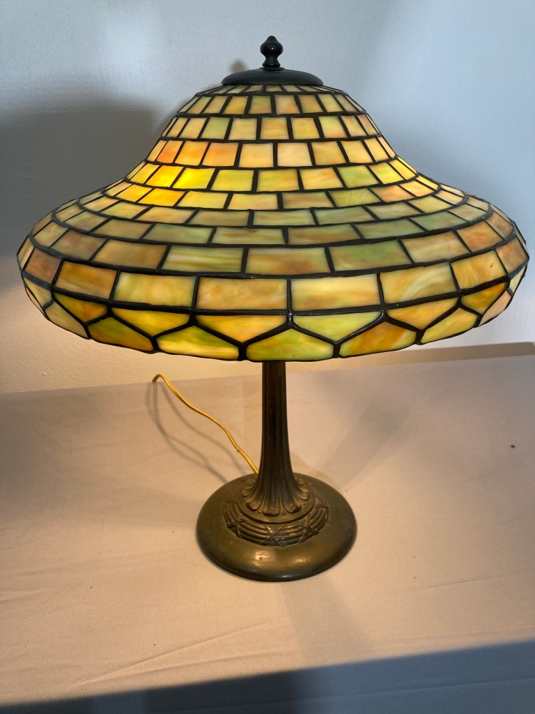 Duffner and Kimberly lamp as seen on page 222 of Mosaic Shades volume 2
